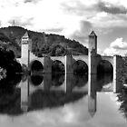 Valentre Bridge by Paul Sims