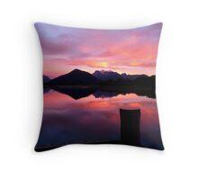 A Beautiful Day Dawns 2.. - Sunrise Glenorchy - NZ Throw Pillow