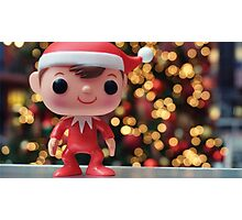 Elf on the Shelf Photographic Print