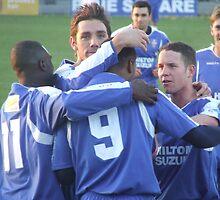 Team Celebration by bluelaz