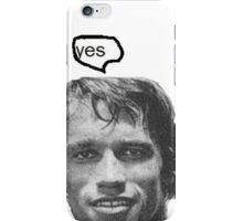 """""""yes"""" iPhone Case/Skin"""