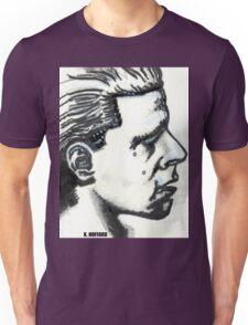 Profile of Man Unisex T-Shirt