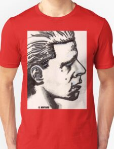 Profile of Man Unisex T-Shirt