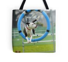 Hey...I Can Fly Through Hoops!!! - Flygility - NZ Tote Bag
