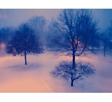 My First Winter Wonderland Photographic Print