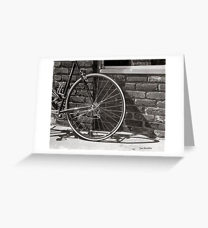 Shadow Wheel Greeting Card