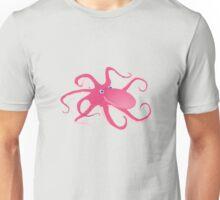 pink octopus Unisex T-Shirt