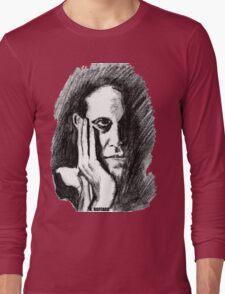 Pondering Man Long Sleeve T-Shirt