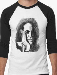 Pondering Man Men's Baseball ¾ T-Shirt