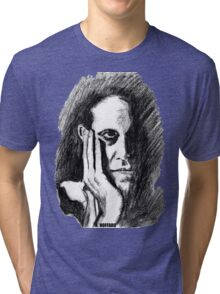 Pondering Man Tri-blend T-Shirt