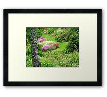 Maple Glen Gardens - Southland - NZ ** Framed Print