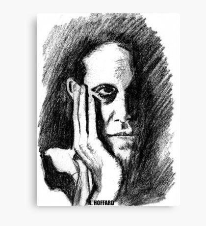 Pondering Man Canvas Print