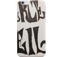 "Pierce the Veil ""Collide"" Logo iPhone Case/Skin"