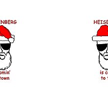HEISENBERG Christmas Mugs by Surpryse