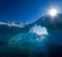 Sunkissed Ice by Interstellar Images