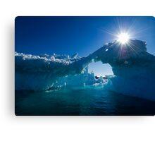 Sunkissed Ice Canvas Print