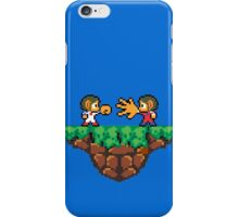 Jokenpo - Alex vs. Kidd iPhone Case/Skin