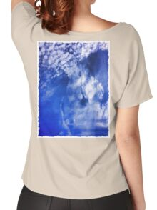 Cloudy Women's Relaxed Fit T-Shirt
