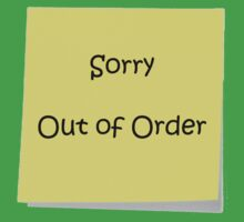 Out Of Order by TeeSir