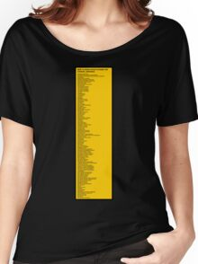 Library Sign - New Classification Scheme for Chinese Libraries Women's Relaxed Fit T-Shirt