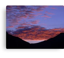 Miraculous Early Morning Dawn Canvas Print
