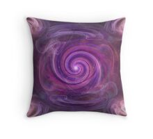 Worm Holes Throw Pillow