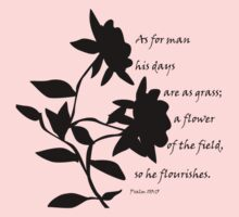 Flower of the field by Melissa Arel Chappell