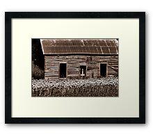'Pre-loved Abode' Framed Print