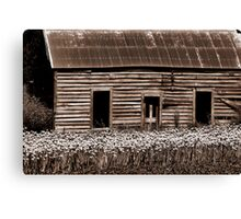 'Pre-loved Abode' Canvas Print