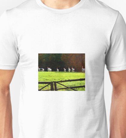 Christmas Cows Unisex T-Shirt