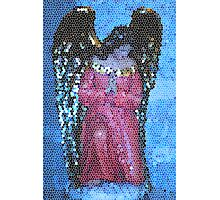 Angel In Stained Glass Photographic Print