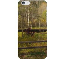 Wagon in the Woods     Cascade, CO iPhone Case/Skin