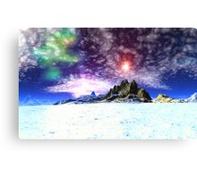 Ultimate Dimensions - The Frozen Waste. Canvas Print
