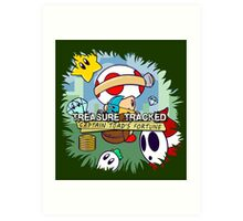 Treasure Tracked: Captain Toad's Fortune Art Print