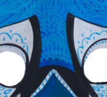 Upcycled BlueJay Mask Sticker