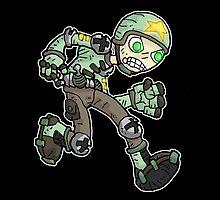 toys: soldier by kangarookid