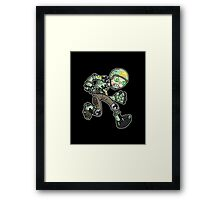 toys: soldier Framed Print