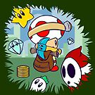 Treasure Tracked: Captain Toad's Fortune (Alt Version. No text) by Macaluso