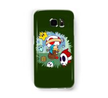 Treasure Tracked: Captain Toad's Fortune (Alt Version. No text) Samsung Galaxy Case/Skin