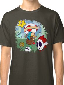 Treasure Tracked: Captain Toad's Fortune (Alt Version. No text) Classic T-Shirt