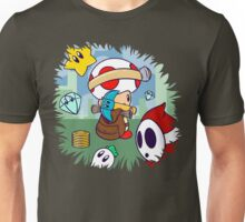 Treasure Tracked: Captain Toad's Fortune (Alt Version. No text) Unisex T-Shirt