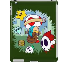 Treasure Tracked: Captain Toad's Fortune (Alt Version. No text) iPad Case/Skin