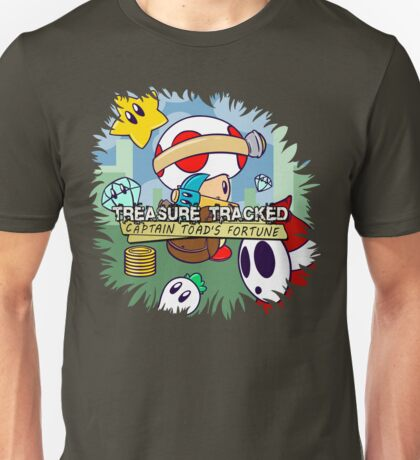 Treasure Tracked: Captain Toad's Fortune Unisex T-Shirt
