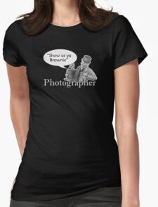 Show us ya Brownie Womens Fitted T-Shirt