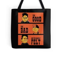 Angel - The Good, the bad, and the made of felt Tote Bag