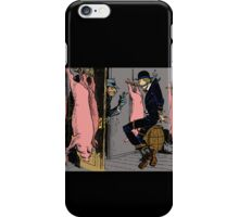Meat Brawl - Color iPhone Case/Skin