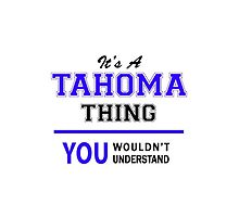It's a TAHOMA thing, you wouldn't understand !! by allnames