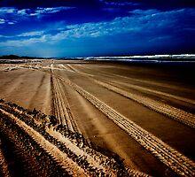 Main Beach - North Stradbroke Island by Alecia Scott