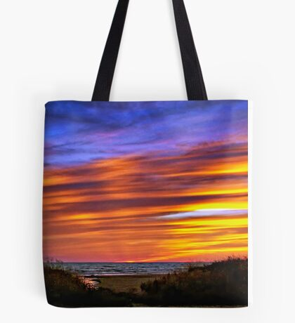 Sauble Beach Sunset Tote Bag