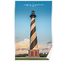Bodie Island Light. Poster
